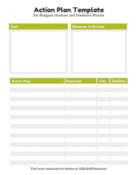 action plan template 6