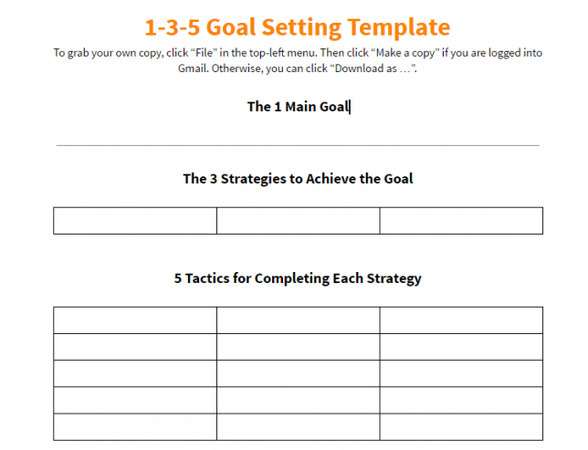 action plan template 9