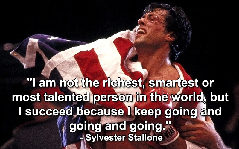 Sylvester Stallone: Are You Truly Committed To Success?