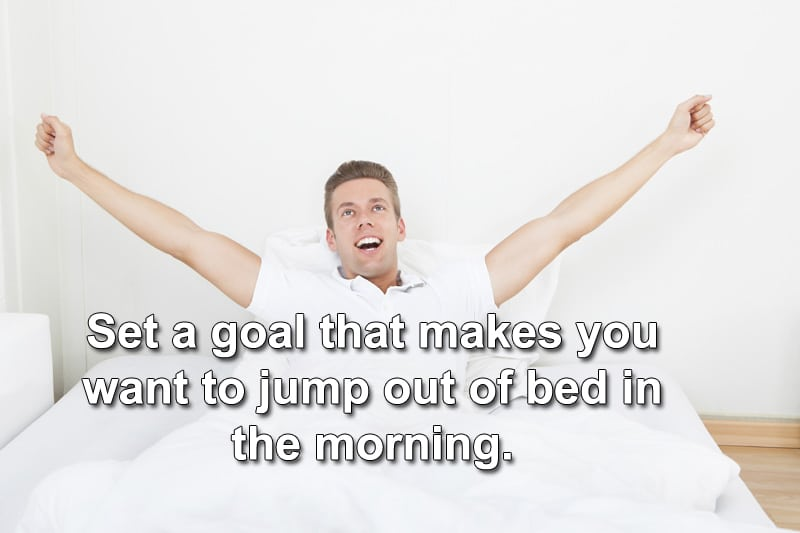 set exciting goals