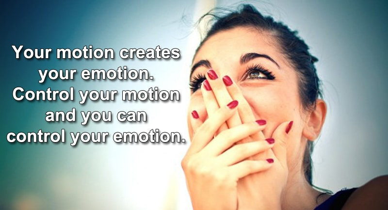 motion creates emotion