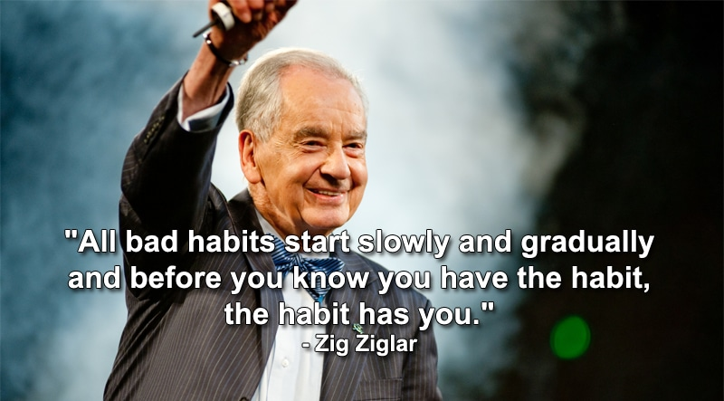 zig ziglar successful habit