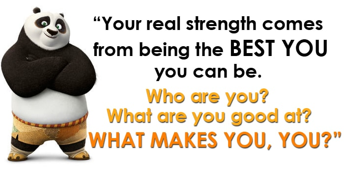 Kung Fu Panda 3 Inspirational Quote