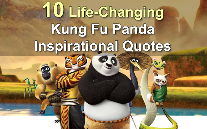 kung fu panda inspirational quotes