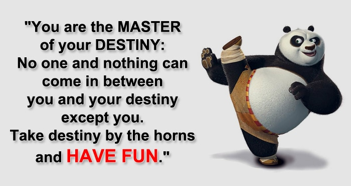 Panda Quotes Amusing 10 Lifechanging Kung Fu Panda Inspirational Quotes