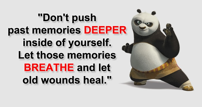 Panda Quotes Adorable 10 Lifechanging Kung Fu Panda Inspirational Quotes