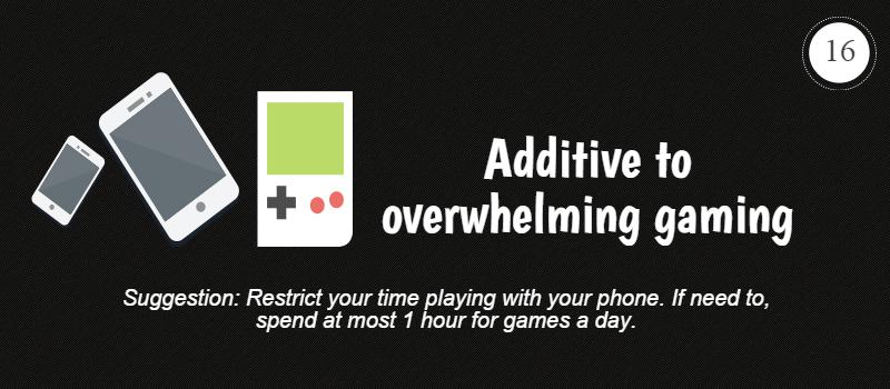 addictive to overwhelming gaming