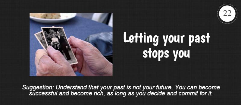 let your past stop you