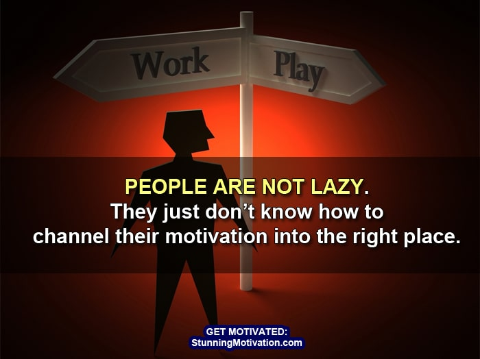 get right motivation