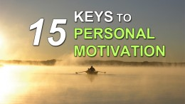 keys to personal motivation