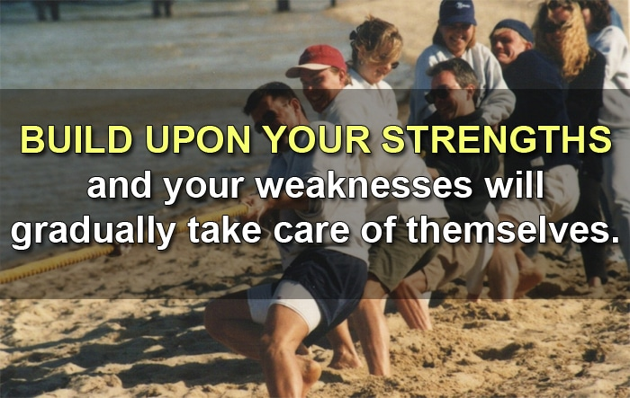 develop strength for success