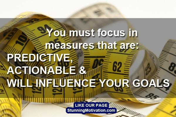focus on lead measure