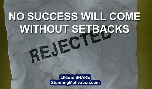 success overcome setbacks
