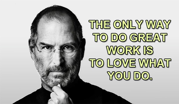 Steve Job's passion for success