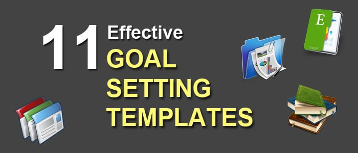 11 Effective Goal Setting Templates for You - Stunning ...