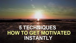 how to get motivated instantly