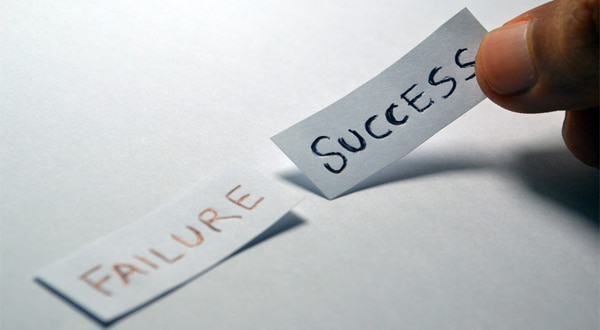 failure and success are unavoidable