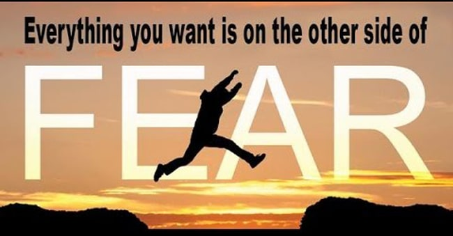 fear of failure to success