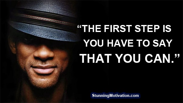 success quote from will smith