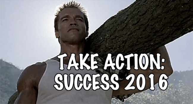 take action to success