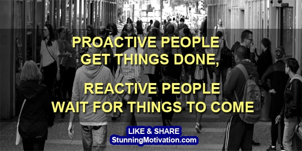 proactive people