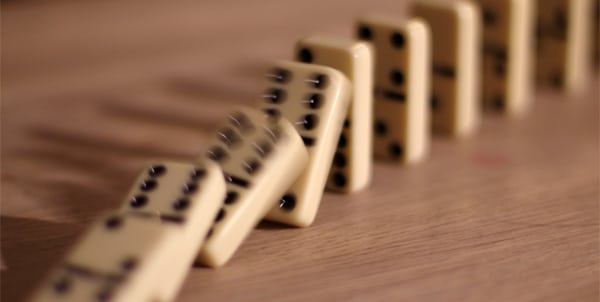domino chain effect