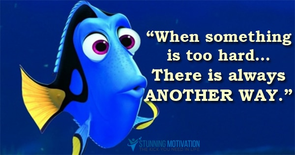 Dory Quotes Impressive Dory Quotes Best Finding Dory Quotes Entire List Of The Best Movie
