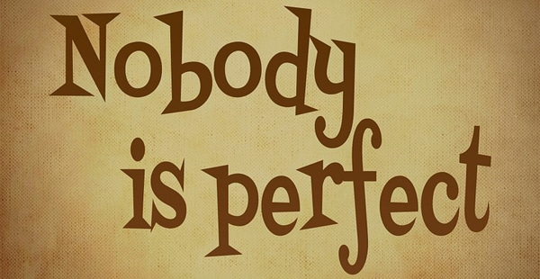 no one is perfect