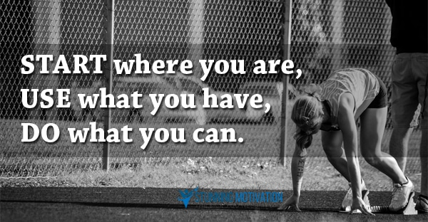 start where you are quote