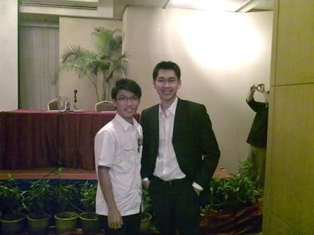 With famous internet marketer, Patric Chan