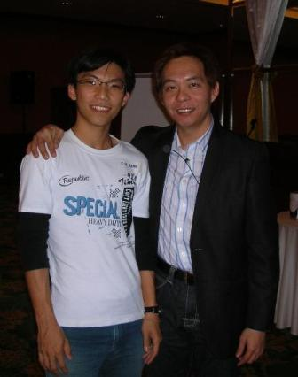 With super affiliate, Ewen Chia