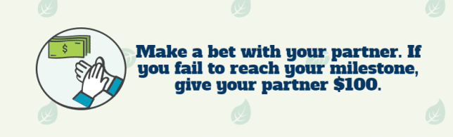 bet with your partner