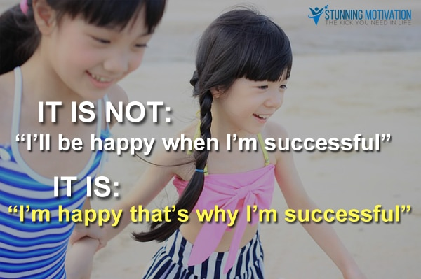happy and success