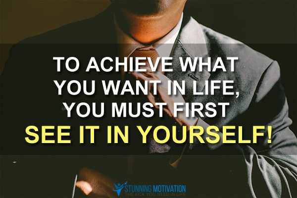 see yourself successful