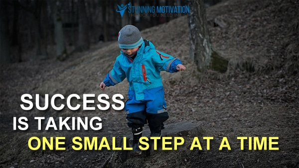small steps to success