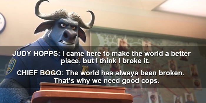 chief bogo quote