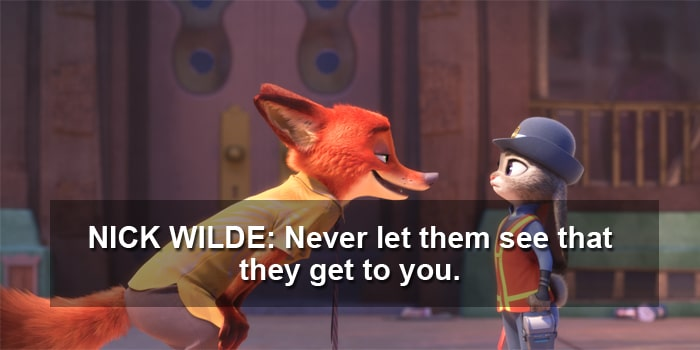 nick wilde quote