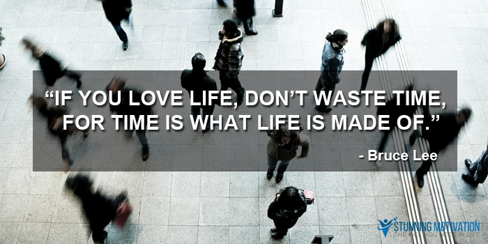 time is life quote