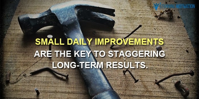 keep improving quote