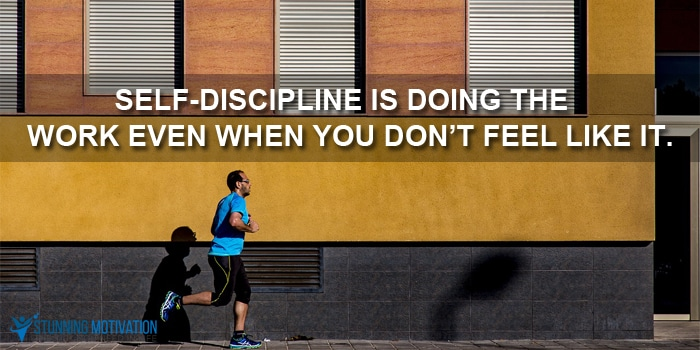 self discipline quote
