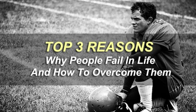 why people fail in life