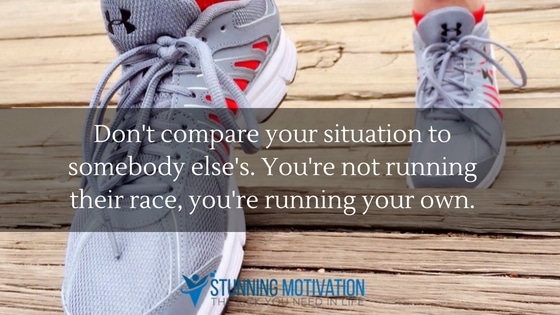 do not compare running quote