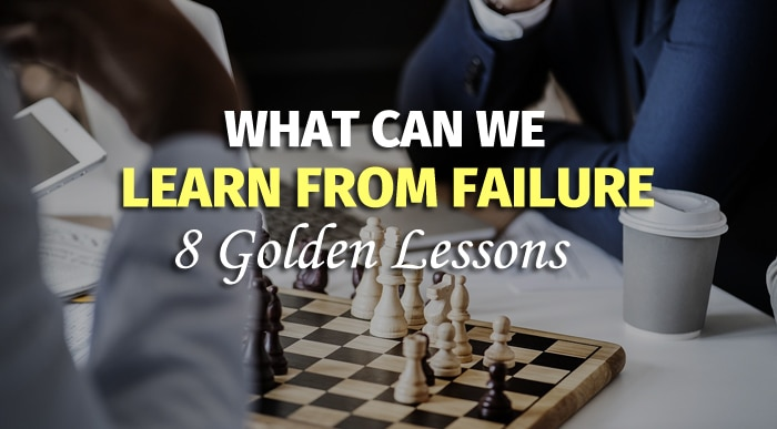 What Can We Learn From Failure
