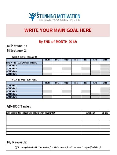 action plan template 10