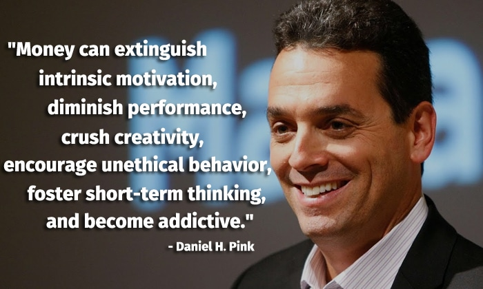 daniel pink intrinsic motivation