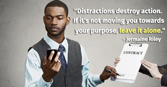 distraction quote