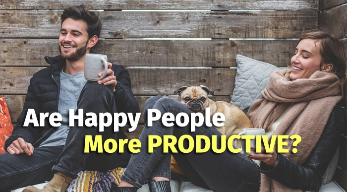 happy people are productive people