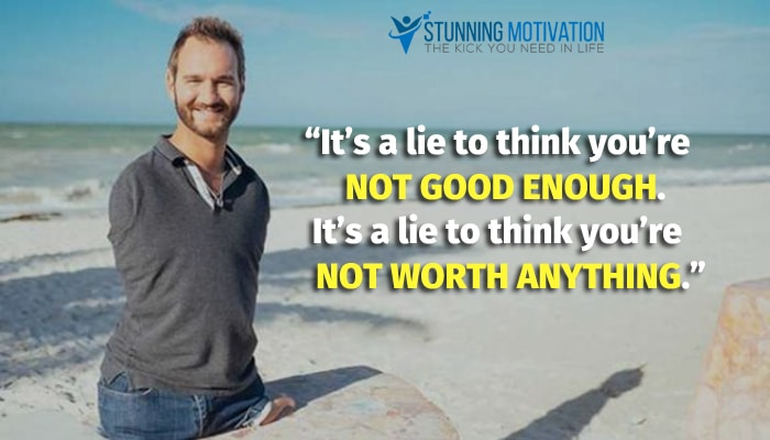 nick vujicic saying