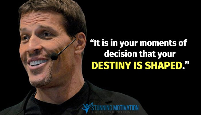tony robbins saying