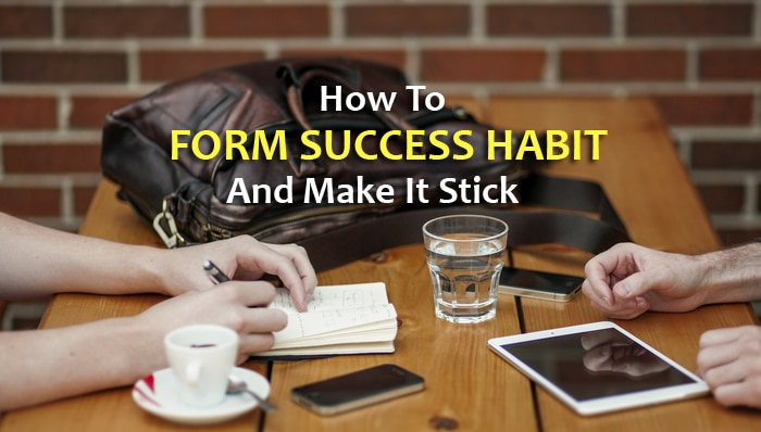 how to form success habit